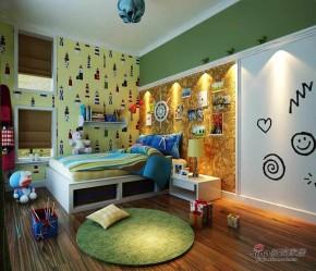 港式 三居 儿童房图片来自用户1907650565在罗马假日舒适160平休闲3居83的分享
