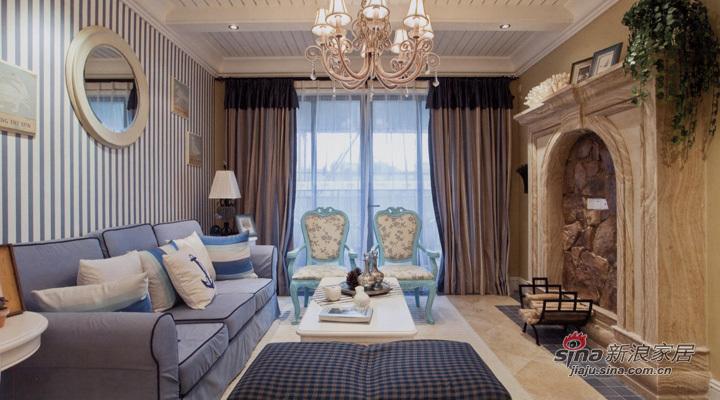 地中海 三居 客厅图片来自用户2757320995在地中海式风格设计70的分享