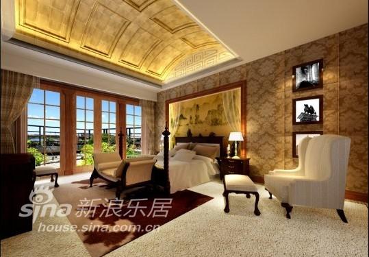 欧式 别墅 卧室图片来自用户2746953981在金杰湖庭16的分享