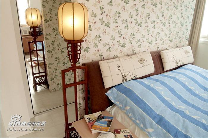 中式 别墅 卧室图片来自用户2757926655在轻快的新中式28的分享