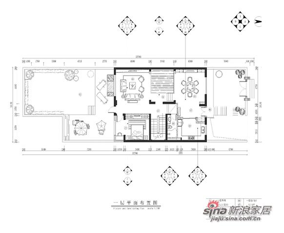混搭 别墅 户型图图片来自用户1907691673在悠然居-熊龙灯别墅设计13的分享