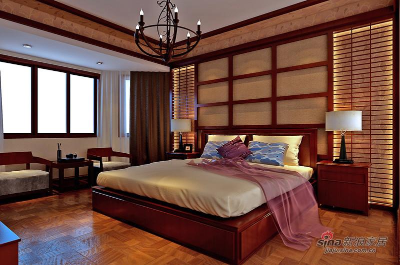 其他 三居 卧室图片来自用户2558757937在16万全包融科东南海125平东南亚三居室57的分享