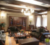 客厅是整个别墅设计的风格体现