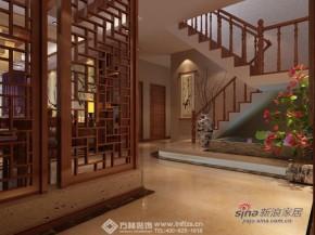 中式 其他 楼梯图片来自方林装饰在220平浓郁中国风82的分享