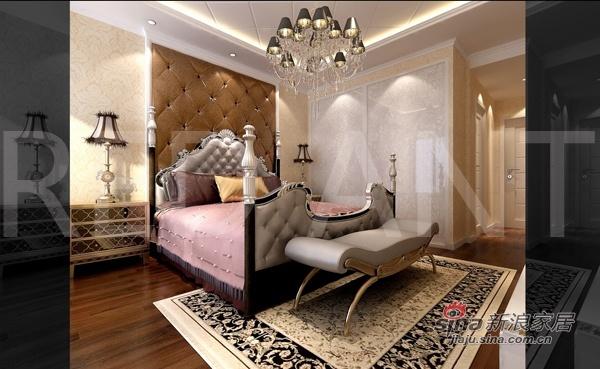 欧式 三居 卧室图片来自用户2772873991在万科140平精装三居简欧豪宅42的分享