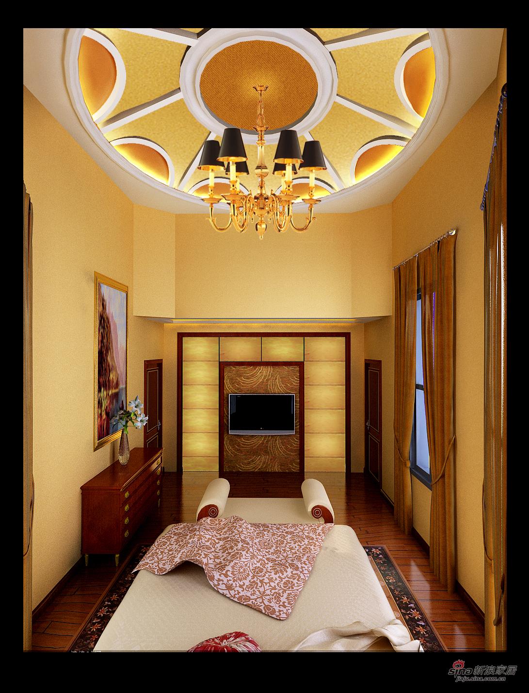 欧式 三居 卧室图片来自用户2746953981在我的专辑175406的分享
