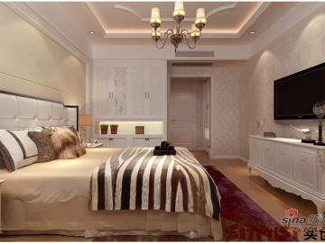 绿城御园三居室大户型装修设计案例40