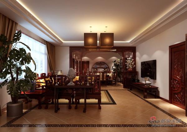 220平庄重恢弘深具传统文化内涵中式设计