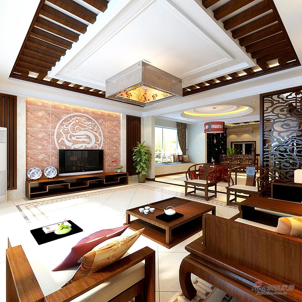 混搭 别墅 客厅图片来自用户1907691673在360平混搭自由风别墅65的分享