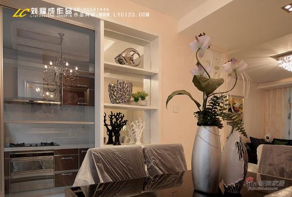 凯乐湘园136平米酒柜设计实景