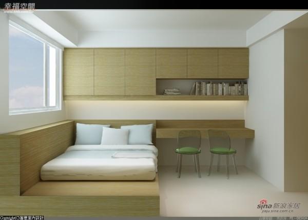 以橡木打造的小孩房是为未来所准备的
