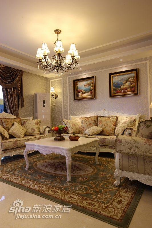 欧式 三居 客厅图片来自用户2746869241在逸生居55的分享