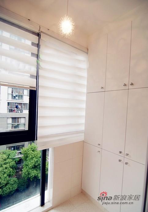 混搭 三居 阳台图片来自用户1907689327在10万装87平时尚多彩三居小错层79的分享