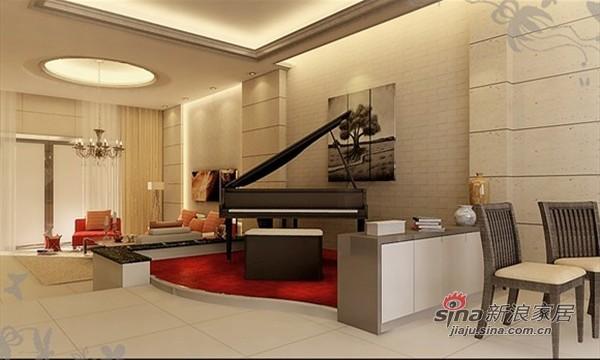 现代 三居 客厅图片来自用户2375967697在成功人士大爱现代简约别墅89的分享