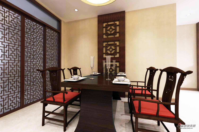 中式 二居 餐厅图片来自用户1907661335在中式家居设计75的分享