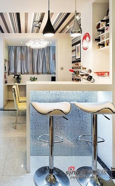 新古典 一居 厨房图片来自用户1907664341在9万装70平新古典时尚新家88的分享