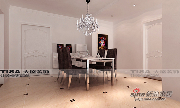 简约 三居 客厅图片来自用户2737735823在经典黑白巧妙搭配打造140现代简约设计爱家62的分享