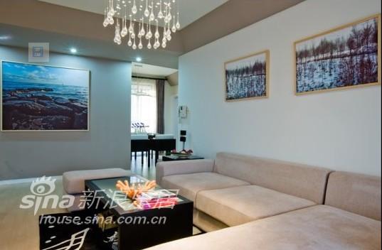 简约 三居 客厅图片来自用户2738820801在无雅视觉12的分享