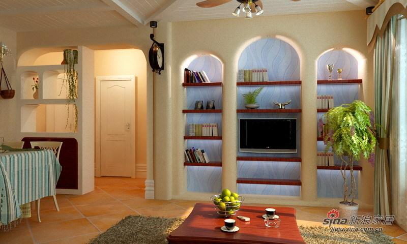 其他 二居 客厅图片来自用户2557963305在田园地中海新潮混搭风格30的分享