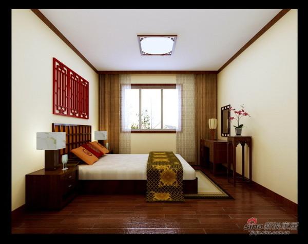 实创装饰打造中式风三居室