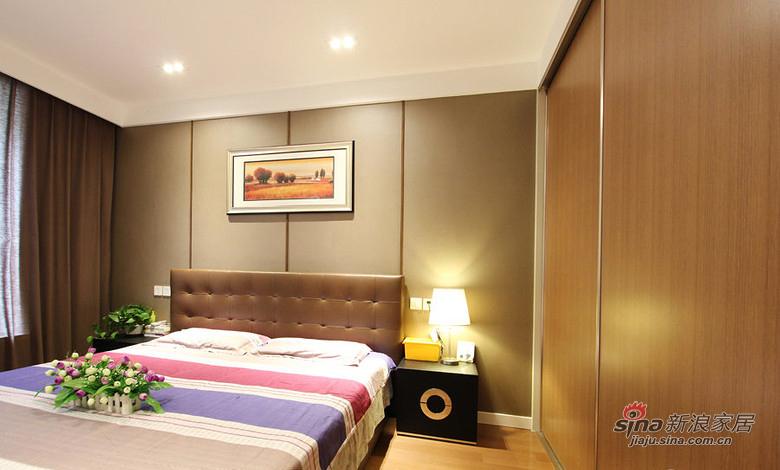 简约 三居 卧室图片来自用户2737735823在【高清】128平无印良品极简主义3居53的分享