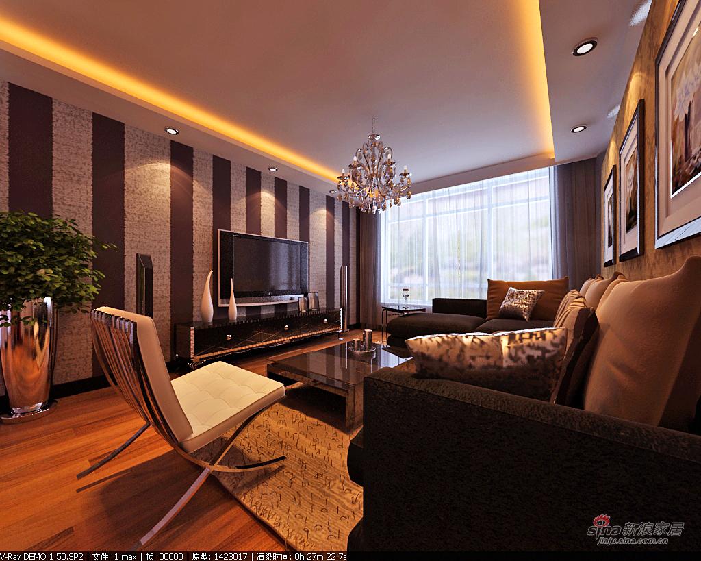 简约 二居 客厅图片来自用户2738829145在90平米现代简约装修50的分享