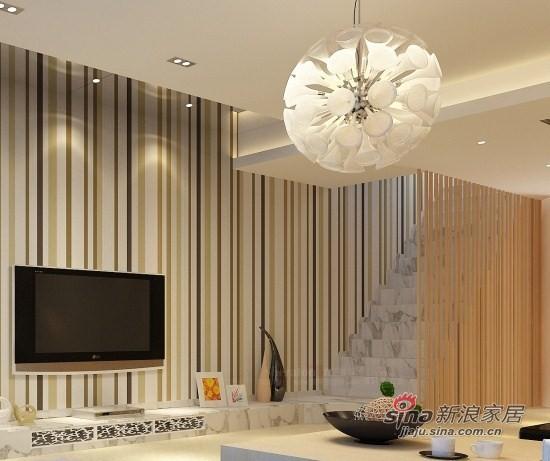 现代 复式 客厅图片来自用户2771250253在22万装210平心怡复式居52的分享