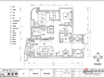 【高清】13.5万装123平湘域熙岸现代简约2房2厅68