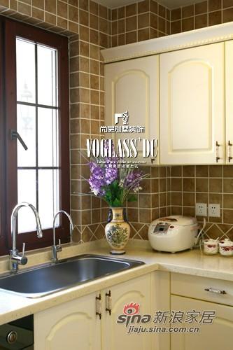 美式 别墅 厨房图片来自用户1907686233在【多图】中年夫妻170平美式乡村空间24的分享