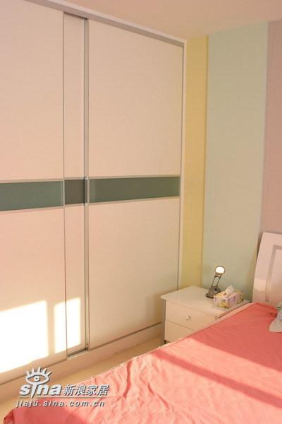 简约 二居 卧室图片来自用户2737950087在上上城14的分享