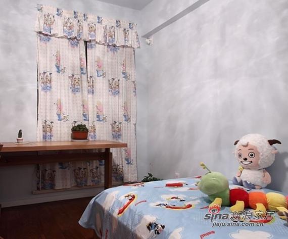 简约 三居 儿童房图片来自用户2737759857在时尚潮流98平演绎二居室美家74的分享