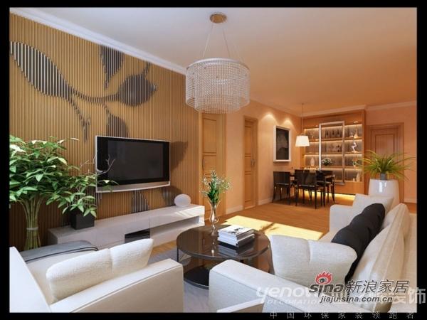 简约 三居 客厅图片来自用户2739153147在120平米环保简约三口之家59的分享