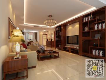 中国铁建·花语城160平三居室简约风格58