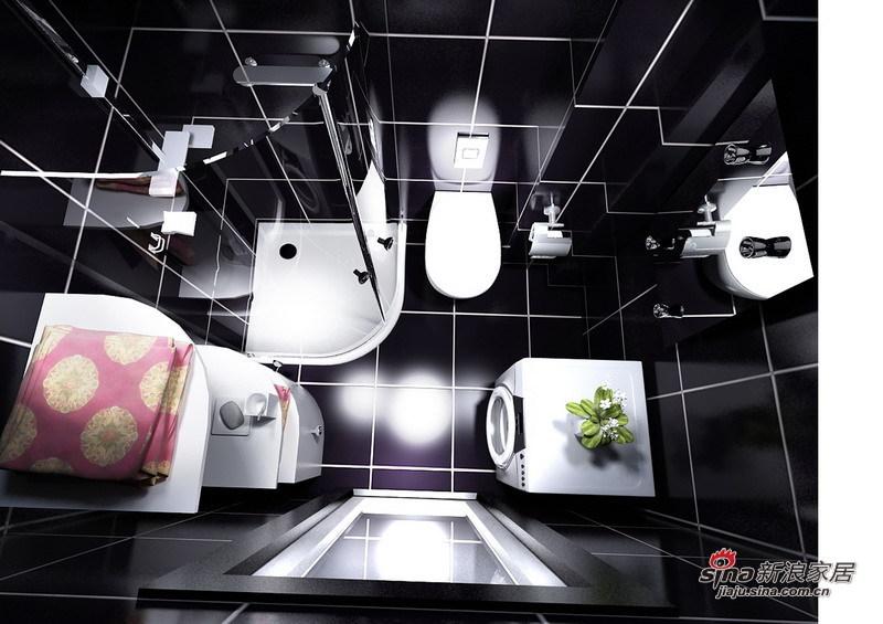 简约 二居 卫生间图片来自用户2738845145在8.5万铸造简约奢华的三居室54的分享