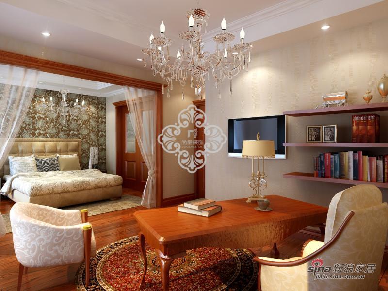 简约 别墅 书房图片来自用户2739081033在别墅样板间_天津简约设计风格47的分享