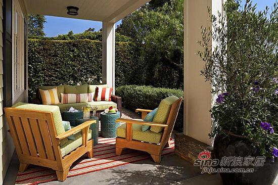 美式 复式 阳台图片来自用户1907686233在【多图】复式美式乡村风格29的分享