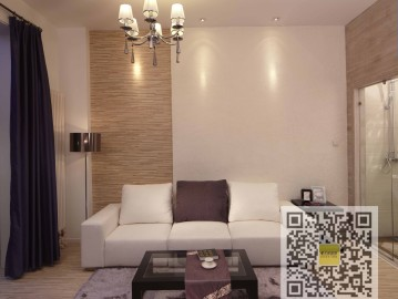 西山国际城现代简约一居室89