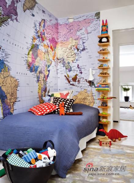 简约 三居 卧室图片来自用户2557979841在海归女12万装100平异域风情三居53的分享