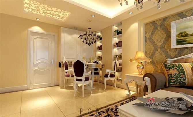 欧式 三居 客厅图片来自用户2772873991在决定不容错过的简欧风格三居室55的分享