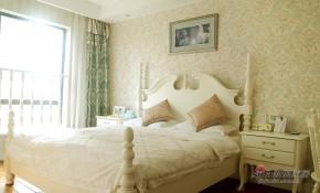 美式 三居 卧室 公主房图片来自用户1907685403在【高清】9万装117平美式混搭风情家28的分享