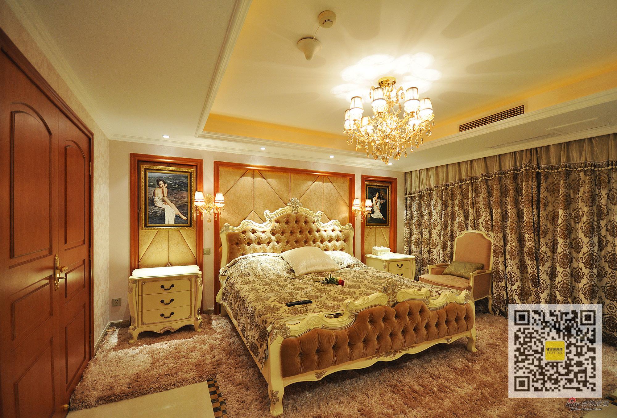 其他 别墅 卧室图片来自用户2737948467在新巴洛克风格别墅设计42的分享