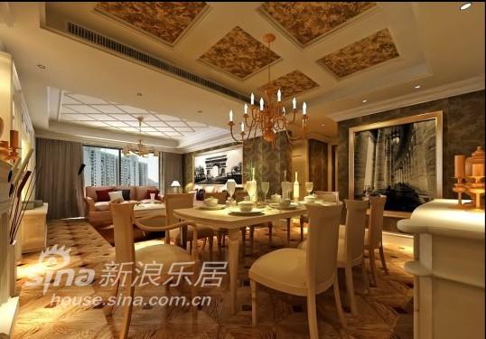 欧式 别墅 餐厅图片来自用户2557013183在奢华风尚71的分享