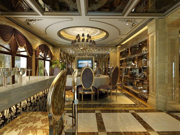 新古典 别墅 餐厅图片来自用户1907701233在嘉禾城别墅34的分享