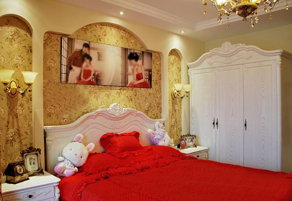 卧室 欧式 红色图片来自用户2772856065在我的专辑179387的分享