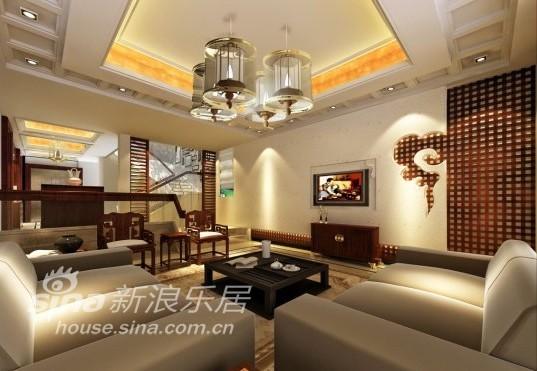 中式 别墅 客厅图片来自用户2757926655在江南华府73的分享