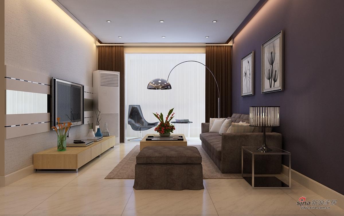 其他 二居 客厅图片来自用户2558757937在都市白领4万打造都市两居室78的分享