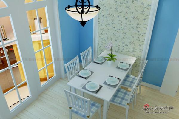 地中海风格装修设计|餐厅效果图