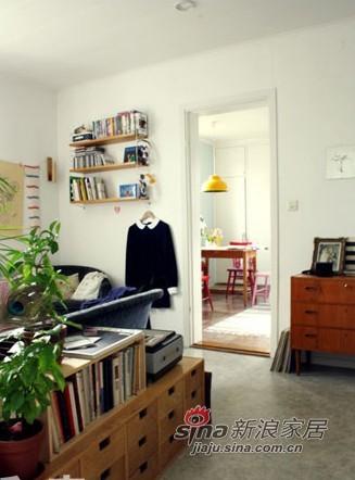 北欧 二居 客厅图片来自用户1903515612在21万打造瑞士小镇的2室1厅33的分享