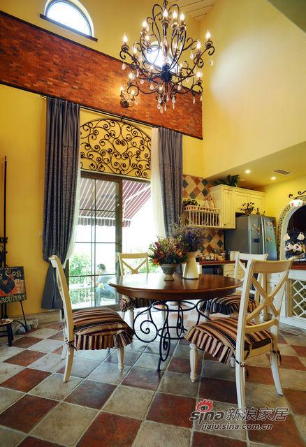 地中海 别墅 客厅图片来自用户2757320995在充满阳光的地中海80的分享