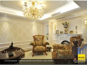 【高清】60万打造520平米阿尔卡地亚别墅设计52